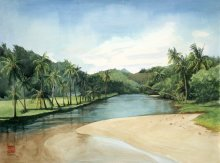 Kauai Artwork by Hawaii Artist Emily Miller - Lawai Kai