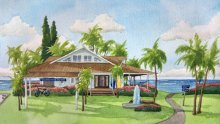 Hawaii home painting by commission artist Emily Miller