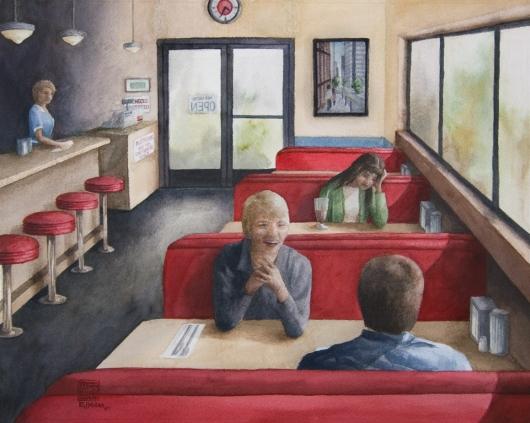 435 p.m.,  -  artwork by Emily Miller