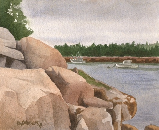 On the Rocks - Haystack, Deer Isle, Maine, $195.00