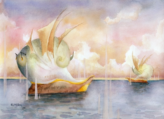 Regatta at Dawn, 2005 •