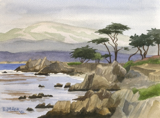 View of Lover's Point, Monterey, 2012