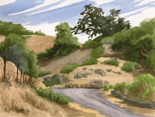 Paradise Ridge Winery, Santa Rosa, California -  artwork by Emily Miller