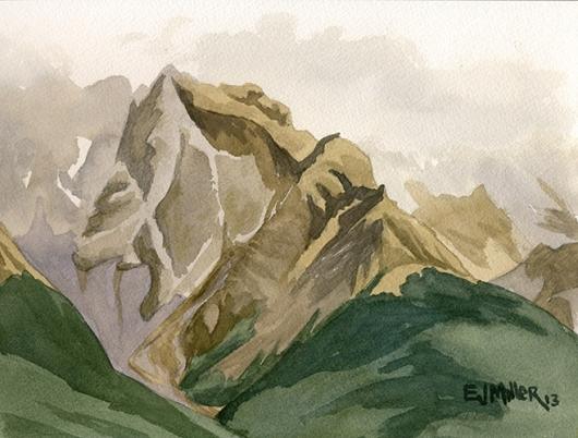 Glenorchy mountain mist
