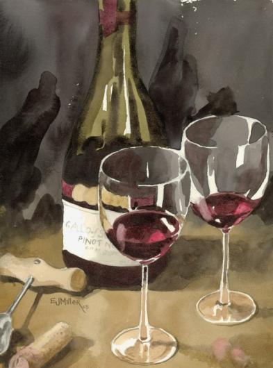 Red Wine 3, 2005 •