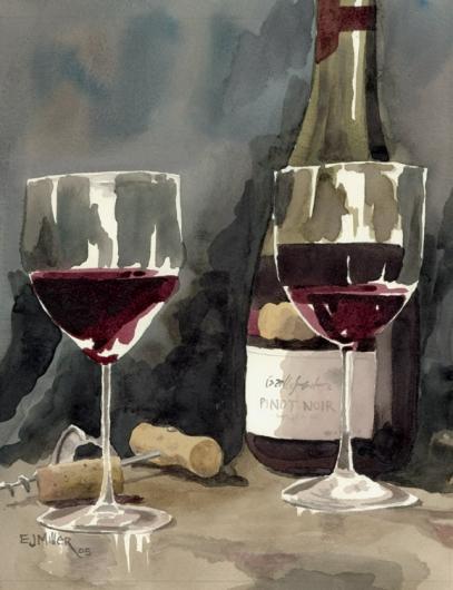 Red Wine 2, 2005 •