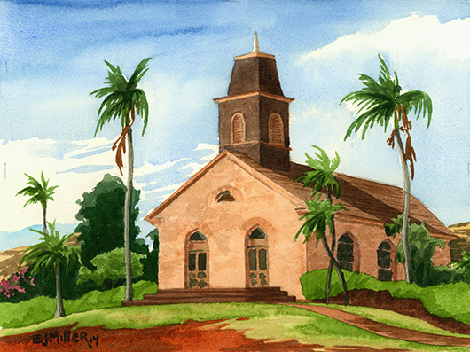 Waimea United Church of Christ, Kauai, 2014