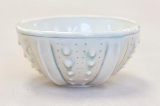 Urchin Rice Bowl - White Mist, 2014