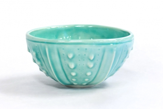 Urchin Rice Bowl - Aquamarine, $28