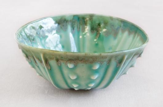 Urchin Rice Bowl - Aquamarine, $28