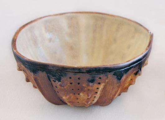 Urchin Rice Bowl - Rust & Cream, 2014