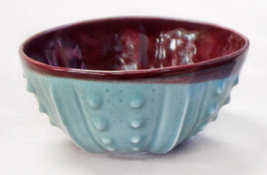 Urchin Rice Bowl - Red Mist, 2014