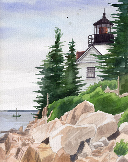 Bass Harbor Head Light, $195