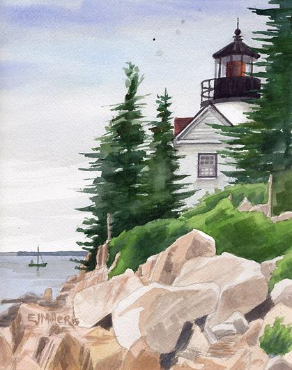 Bass Harbor Head Light, $195.00
