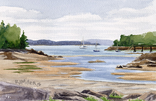 Northwest Harbor, Deer Isle