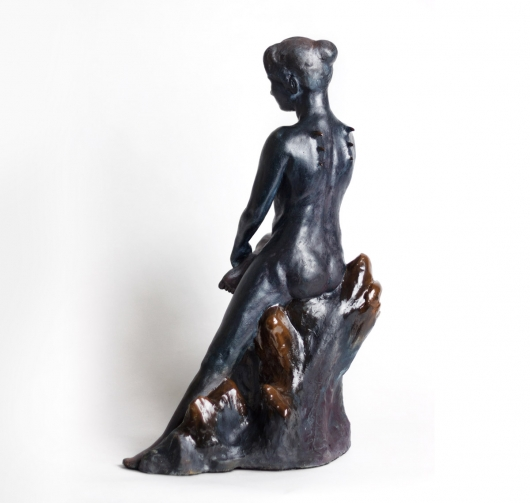 Night Sea, Ceramics - nude, sculpture, ceramics artwork by Emily Miller