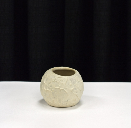 Crinkle Orb (Small), $40.00
