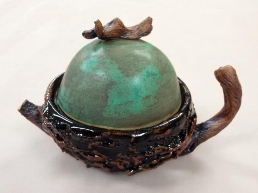 Nest Teapot, $50.00