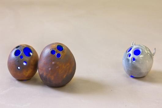 Suspicion, Ceramics -  artwork by Emily Miller