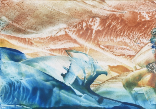 tideline ii, ocean -  artwork by Emily Miller