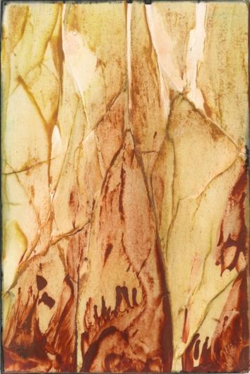 bark tones, autumn -  artwork by Emily Miller