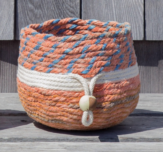 Pink Lobster Basket 2, 2015