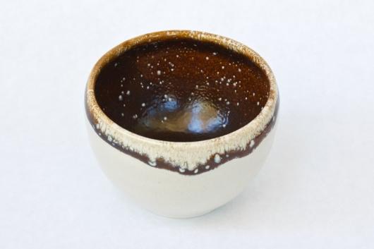 Small Bowl - latte glaze, Ceramics -  artwork by Emily Miller