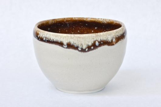 Small Bowl - latte glaze, 2016