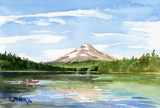 Mt. Hood from Trillium Lake, $245