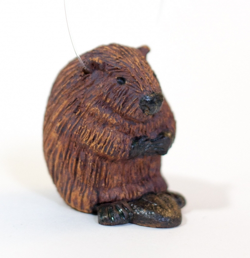 Beaver Family (Micro / Ornament), $60