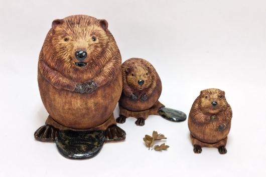 Beaver Family, 2016