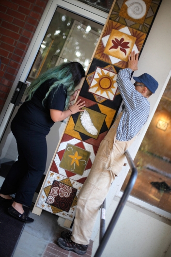 Shared Roots, public art -  artwork by Emily Miller