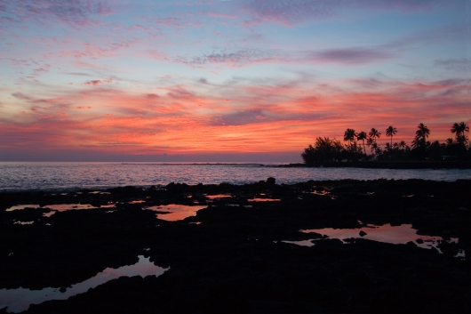 Sunset at Poipu, 2007