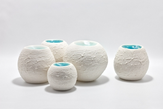 Lagoon Pots, Ceramics -  artwork by Emily Miller