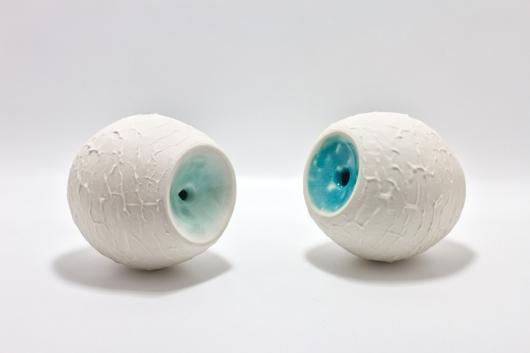 Lagoon Pots, Ceramics -  artwork by Emily Miller