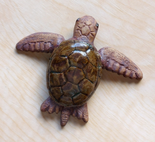 Hatching Turtle (Swimming), $80  3  available
