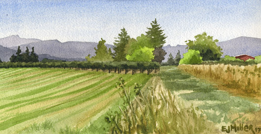 Oregon Summer Fields II, $195