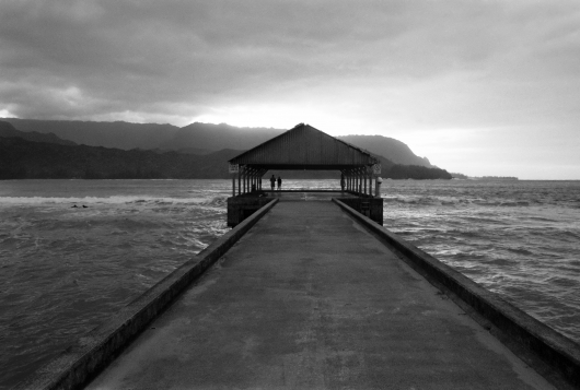 Winter Sunset, Hanalei Pier, 2007