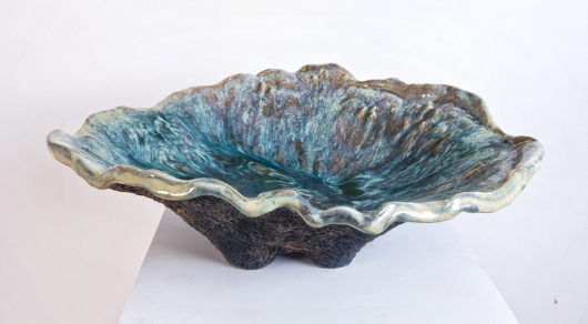 Ostrea, Ceramics -  artwork by Emily Miller