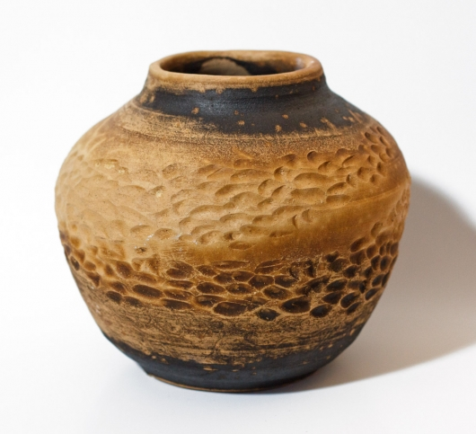 Obvara Pots, Ceramics -  artwork by Emily Miller