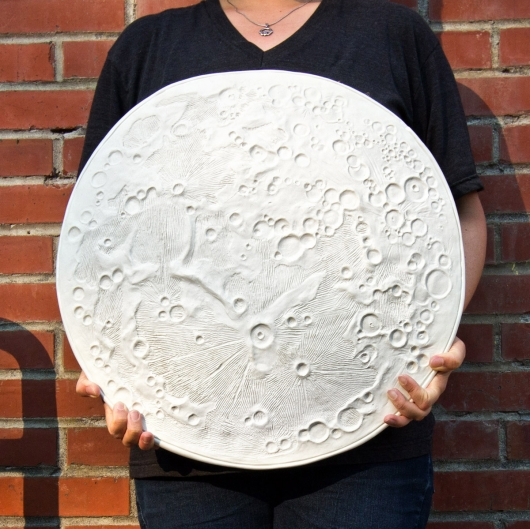 Moon Disk - Large (Full Moon - Large), $250