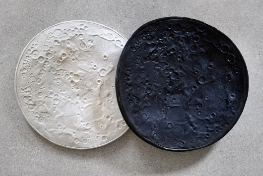 Moon Bowl, Ceramics -  artwork by Emily Miller