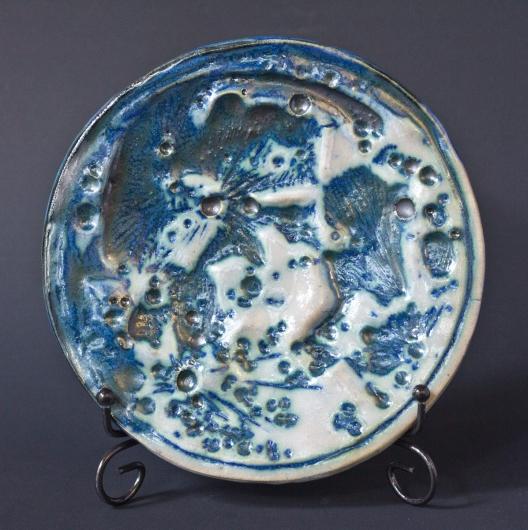 Moon Dish - Small (Crescent Moon Small Plate - Indigo concave), $40.00