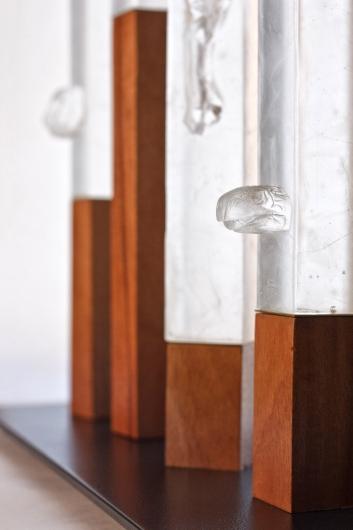 Totems / Tuteng, sculpture -  artwork by Emily Miller