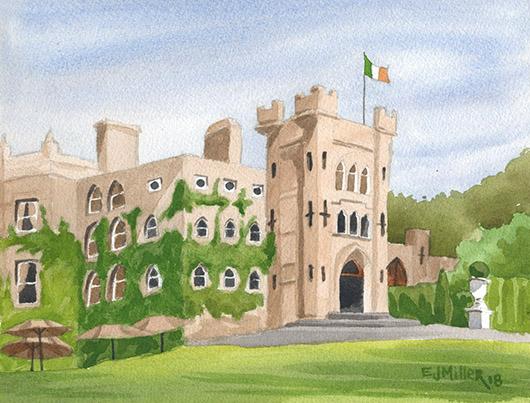 Cabra Castle, Ireland, 2018