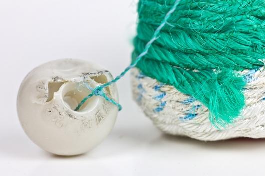 Ukidama - Japanese Oregon Baskets, Ghost Net Baskets -  artwork by Emily Miller