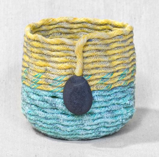 Beehives - Oregon Baskets, Ghost Net Baskets -  artwork by Emily Miller