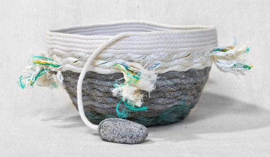 Lava Rock Shores - Hawaii Baskets (Large Tassel), $100