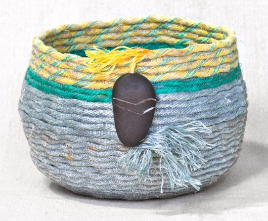Extra Large Sunbreak - Oregon Baskets, Ghost Net Baskets -  artwork by Emily Miller