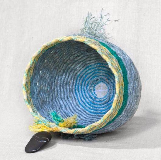 Sunbreak - Oregon Baskets, Rope Baskets -  artwork by Emily Miller